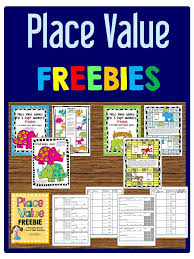 place value freebies printable board games and worksheets for 2