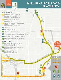 Marta Atlanta Map Will Bike For Food In Atlanta U2014 Bikabout