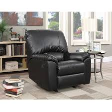 Grey Leather Recliner Denise Austin Home Memphis Leather Recliner Club Chair Walmart Com