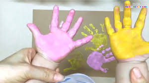 hand printing for kids finger painting for kids painting with