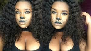 cat halloween makeup tutorial mstoofine youtube