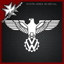 vw wwii german eagle logo 1 outlaw custom designs llc