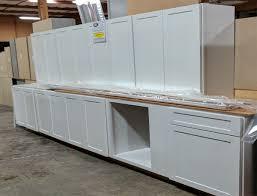 Parr Lumber Cabinet Outlet Maple White Cabinets Set 8 Pieces Parr Cabinet Design Center