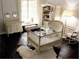 Baby Bedroom Furniture Baby Nursery With Cream Furniture Colors And White Walls