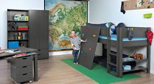 abenteuer kinderzimmer mit hochbett kletterwand town - Kinderzimmer Mit Hochbett Komplett