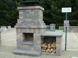 pre engineered masonry outdoor fireplace kit jen joes design and