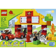 melissa and doug building brick black friday target lego duplo my first fire station 6138 instock at toys r us and