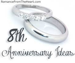 8th anniversary gifts for 8th anniversary ideas romancefromtheheart