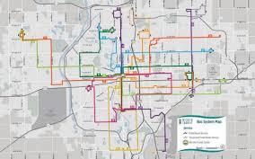 Las Vegas Transit Map by New Bus Routes Start Saturday Kicking Off Week Of Free Fares