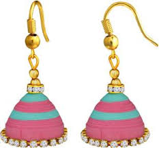 quiling earrings quilling earrings buy quilling earrings online at best prices in