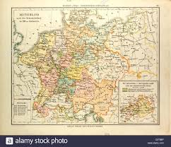 Map Og Germany by Map Of Germany In The 16th Century Stock Photo Royalty Free Image