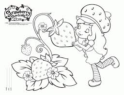 strawberry shortcake coloring pages getcoloringpages within