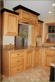 Add Trim To Kitchen Cabinets by Luxury Eggshell Kitchen Cabinets Home Design Kitchen Decoration
