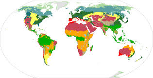 World Map Biomes by Wwf Biome Map Alternate History Discussion