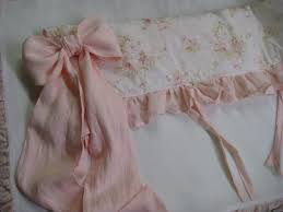 Pink Ruffle Curtains Panels by Crib Bedding Separates In Baby Pink Washed Linen Custom Ruffled
