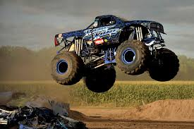 outdoor monster truck show brings fans marshall county