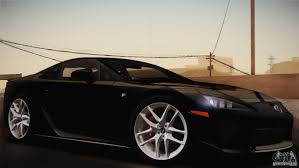 lexus supercar 2013 lfa us spec 2011 для gta san andreas