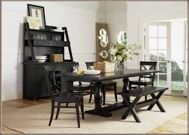 beautiful black bench for kitchen table khetkrong