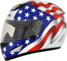 thh motocross helmet american flag helmet ebay