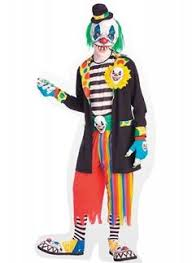 Scary Halloween Clown Costumes Scary Clown Costumes Wriggly Mortie Child Costume Halloween