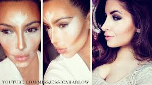 contouring highlighting like kim kardashian missjessicaharlow you