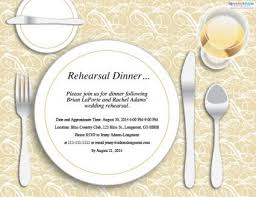 dinner invitation wedding rehearsal dinner invitations lovetoknow