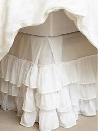 Burlap Bed Skirt Pollera Con Volados Par Somier Deco Pinterest Burlap Bed