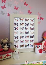 diy déco chambre bébé diy un joli cadre papillons avec la recup d une de ses peintures