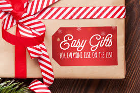 Holiday Gifts Easy Gifts For Everyone Else On The List Stickeryou