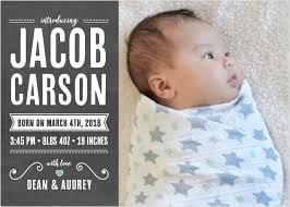 birth announcement birth announcements 40 designs basic invite