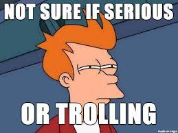 Troll Pics Meme - not sure if serious or trolling meme on imgur