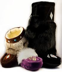 womens boot slippers canada canadian made mukluks moccasins sheepskin slippers and more for