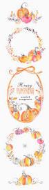 halloween wreath transparent background happy pumpkins wreaths u0026 arrangements watercolor clipart