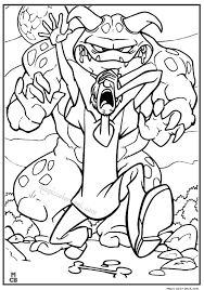 scooby doo coloring pages 36 magic color book