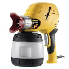 wagner power stainer plus 6 6 gph paint sprayer with ez tilt