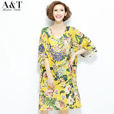 summer dresses for girls in the yellow floral print