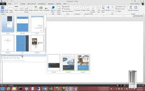 how to get free report cover pages in microsoft word 2013 youtube