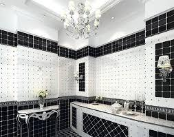 Black And White Bathroom Tile Designs 971 Best Bathrooms Images On Pinterest Bathroom Ideas