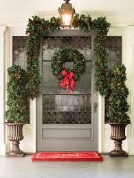 bay laurel with mixed berries wreath and garland balsam hill