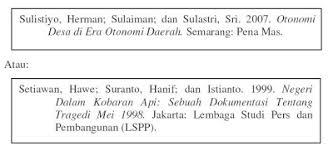panduan penulisan daftar pustaka dari jurnal penulisan daftar pustaka pengetahuan tanpa batas