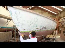 brush painting demonstration altex yacht u0026 boat paint youtube