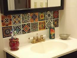 Kitchen Backsplash Decals Kitchen Backsplashes Inspiration Idea Mexican Tile Backsplash