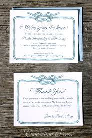 wedding invitations knot concertina press stationery and invitations tying the knot