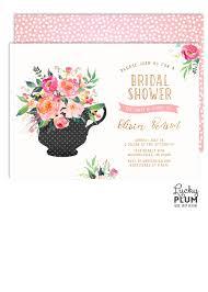 kitchen tea party invitation ideas bridal shower tea party invitation high tea invitation