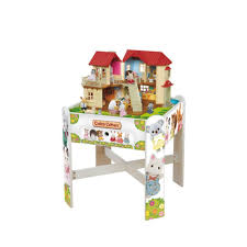 amazon com calico critters calico playtable for consumers toys