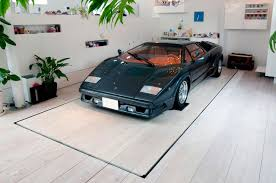Garage Living by Modern Home Design Car Garage In Living Room Home Design And
