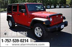 used 4 door jeep rubicon pre owned 2010 jeep wrangler rubicon 4 door wagon extended open