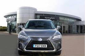 lexus hybrid estate used 2017 lexus rx 450h 3 5 luxury 5dr cvt auto for sale in