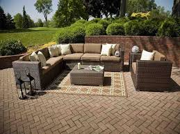 Newport Wicker Patio Furniture Outdoor Resin Wicker Sectional Patio Furniture Wicker Patio