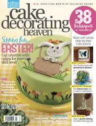 Cake Decorating Magazine Issues Hop Into Easter With The New Issue Of Cake Decorating Heaven